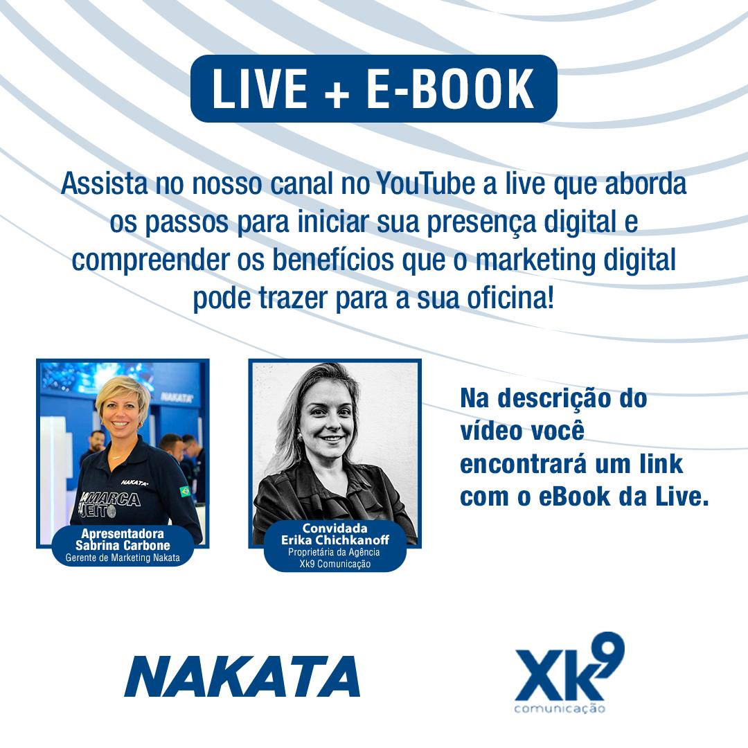 Material da Live: Como usar o Marketing digital para minha oficina