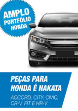 AMPLO PORTFÓLIO HONDA