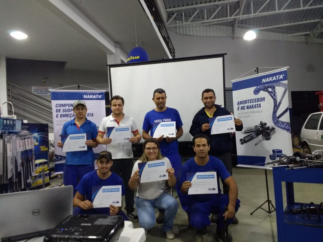 Palestra no Centro Automotivo Lu Top Service